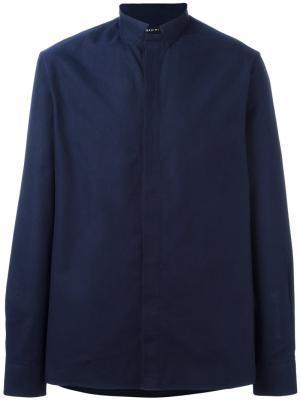 Рубашка Arran Qasimi. Цвет: синий