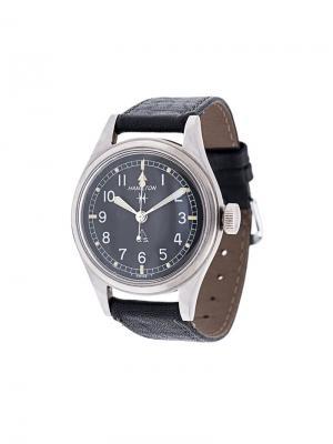 Аналоговые наручные часы GS Hamilton. Цвет: чёрный