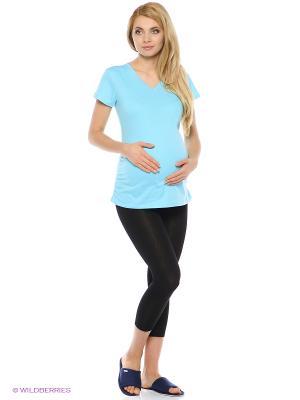 Леггинсы для беременных 40 недель. Цвет: черный