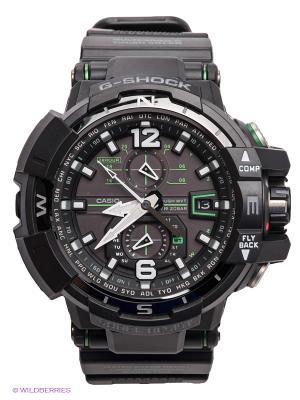 Часы G-SHOCK GW-A1100-1A3 CASIO. Цвет: черный