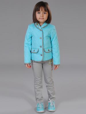 Куртка Fleur de Vie. Цвет: голубой