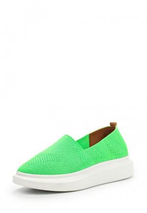 Слипоны Modelle. Цвет: зеленый