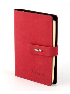 Ежедневник VIRON. Цвет: красный