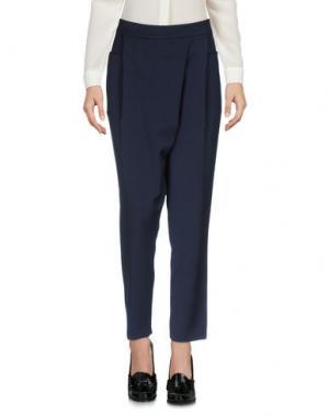 Повседневные брюки MALAICA. Цвет: темно-синий