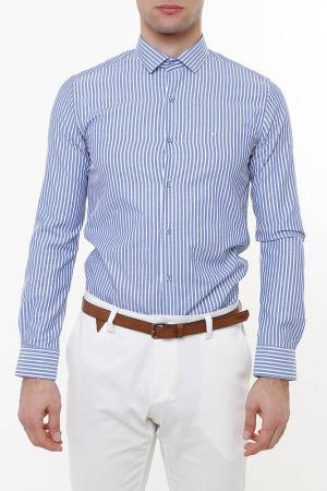 Рубашка Wessi. Цвет: синий