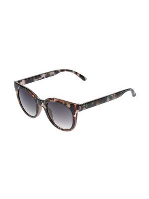 Солнцезащитные очки Happy Charms Family. Цвет: коричневый, розовый, черный, бирюзовый