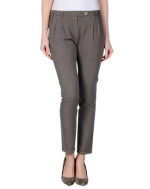 Повседневные брюки JUST FOR YOU. Цвет: серый