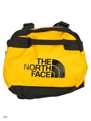Сумка BASE CAMP DUFFEL The North Face. Цвет: черный, желтый