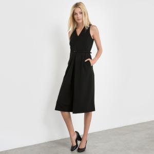 Комбинезон с юбкой-брюками MOLLY BRACKEN. Цвет: черный