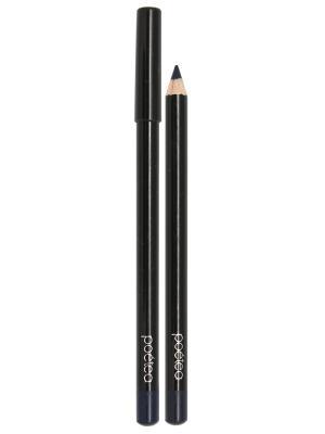 Гелевый карандаш для глаз AQUA, тон 74 POETEA. Цвет: синий