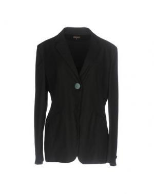Пиджак MALÌPARMI. Цвет: черный