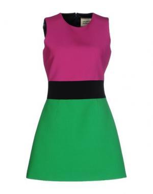 Короткое платье FAUSTO PUGLISI. Цвет: фуксия