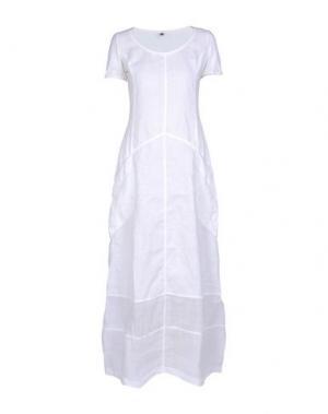 Длинное платье EUROPEAN CULTURE. Цвет: белый