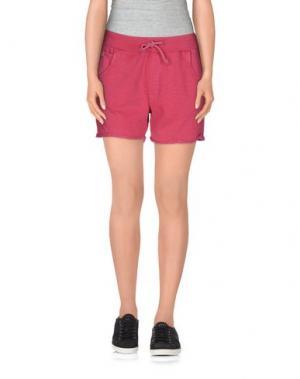 Повседневные шорты CLARK JEANS. Цвет: пурпурный