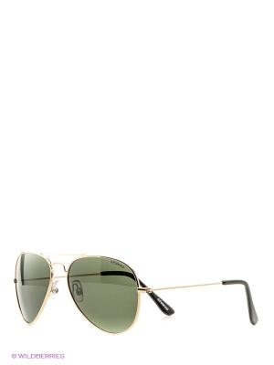 Солнцезащитные очки Polaroid. Цвет: золотистый