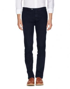 Повседневные брюки TOMBOLINI. Цвет: темно-синий