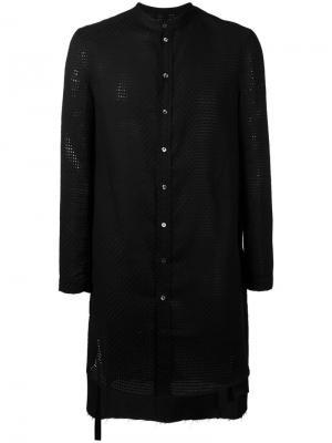 Удлиненный пиджак Tom Rebl. Цвет: чёрный