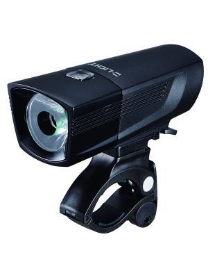 Передний фонарь с зарядкой от USB D-light. Цвет: черный