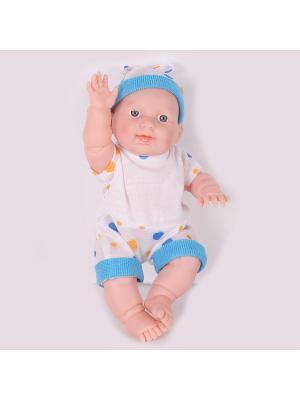 Кукла пупс, Андрюшка Lisa Jane. Цвет: голубой