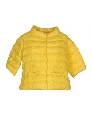 Пуховик NORA BARTH. Цвет: желтый