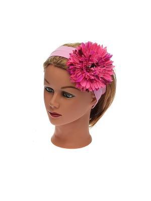 Повязка на голову Jane Flo. Цвет: розовый