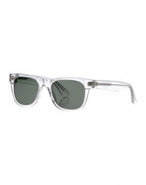 Солнечные очки SATURDAYS SURF NYC. Цвет: прозрачный