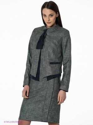 Пиджак Natali Silhouette. Цвет: антрацитовый