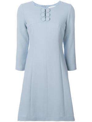 Платье Emily Goat. Цвет: синий