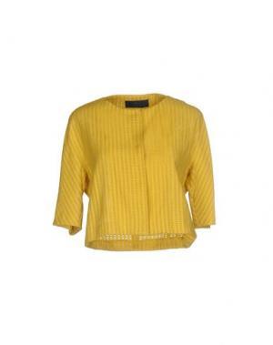 Пиджак BLUE LES COPAINS. Цвет: желтый