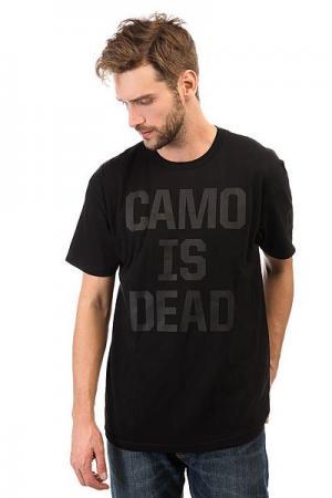 Футболка  Camo Is Dead Black Neff. Цвет: черный