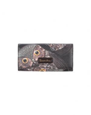 Бумажник BRACCIALINI. Цвет: темно-коричневый