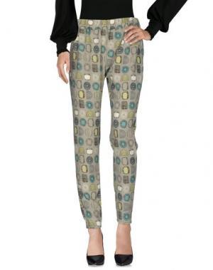 Повседневные брюки MONIKA VARGA. Цвет: зеленый-милитари