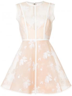 Платье Arlo Alex Perry. Цвет: телесный