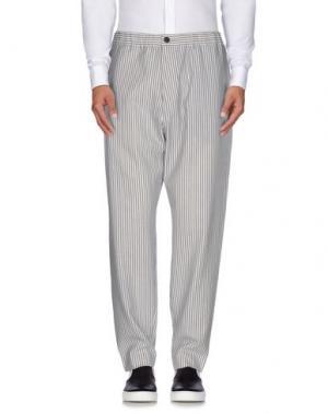Повседневные брюки HENTSCH MAN. Цвет: серый