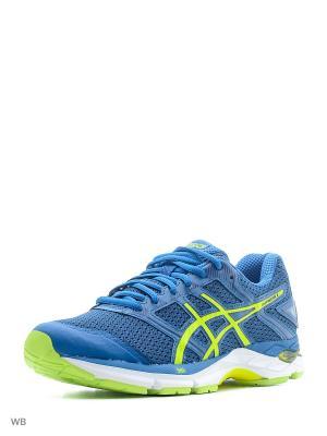 Спортивная обувь GEL-PHOENIX 8 ASICS. Цвет: голубой, желтый, темно-синий