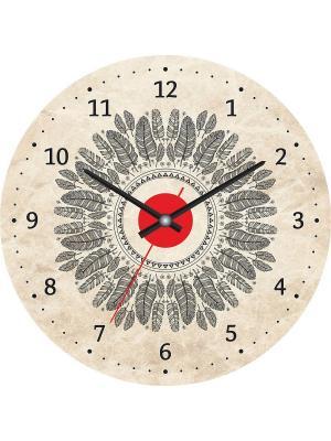 Часы настенные CL-23 4680030561106 Postermarket. Цвет: молочный