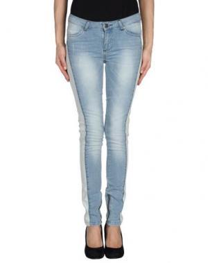 Джинсовые брюки BY ZOÉ. Цвет: синий