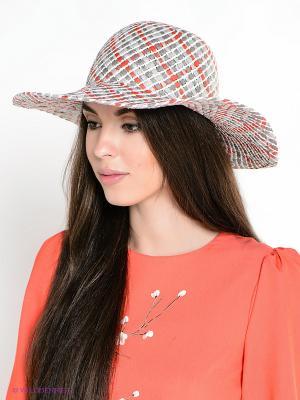 Шляпа ESMEE. Цвет: коралловый, серый