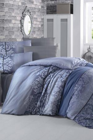 Single Quilt Cover Set Victoria. Цвет: blue, dark blue