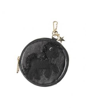Кошелек для монет ARGENTO ANTICO. Цвет: стальной серый