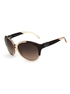 Cолнцезащитные очки Exenza. Цвет: коричневый