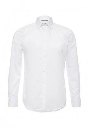 Рубашка Piazza Italia. Цвет: белый