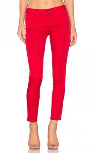 Скинни джинсы до лодыжек margaux DL1961. Цвет: none