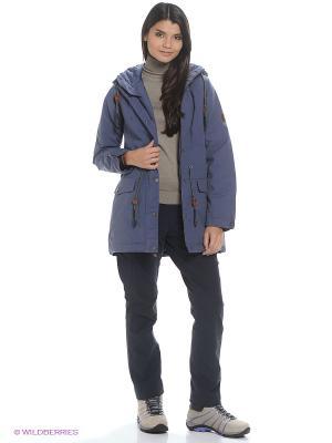 Куртка MILLERTOWN F65 PAR W Jack Wolfskin. Цвет: голубой