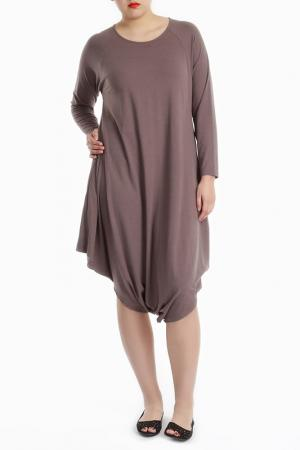 Платье Milanesse. Цвет: light brown