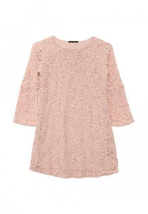 Платье Sisley. Цвет: розовый