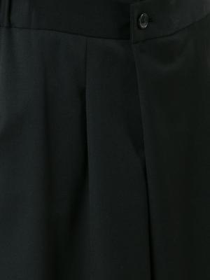 Укороченные брюки Ys Y's. Цвет: чёрный