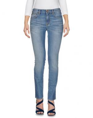 Джинсовые брюки DAVID JOSS. Цвет: синий