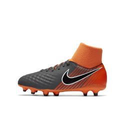 Футбольные бутсы для игры на твердом грунте дошкольников/школьников  Jr. Magista Obra II Academy Dynamic Fit FG Nike. Цвет: серый