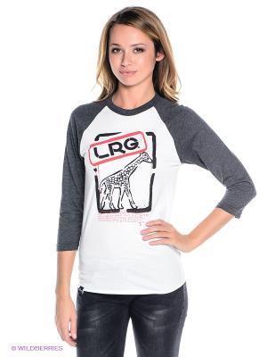 Кофточка LRG. Цвет: белый, темно-серый